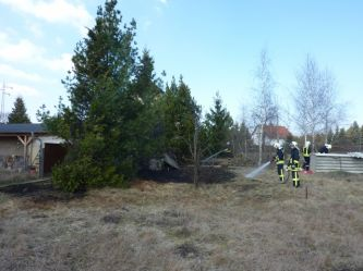 Ödlandbrand in Jessen